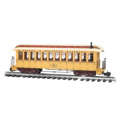 ** Bachmann 97207 x 1 Jackson Sharp Passenger Coach Eureka & Palisade (Lighted)