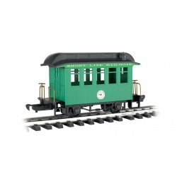 ** Bachmann 97093 x 1 Coach Short Line Railroad Green With Black Roof
