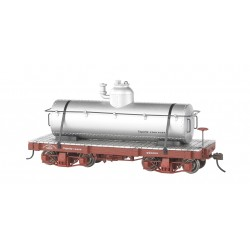** Bachmann 26521 x 1 18' Tank Cars Silver, Data Only (2/Box)