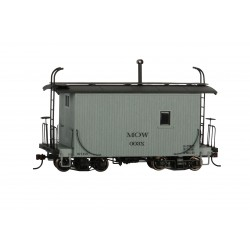 ** Bachmann 26561 x 1 18' Caboose Logging Caboose - MOW Gray, Data Only