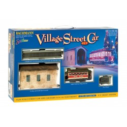 ** Bachmann 25017 x 1 Village Street Car Set 'Christmas'