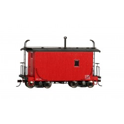 ** Bachmann 26562 x 1 18' Caboose Logging Caboose - Caboose Red, Data Only