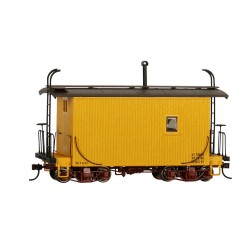 ** Bachmann 26563 x 1 18' Caboose Logging Caboose - Yellow, Data Only