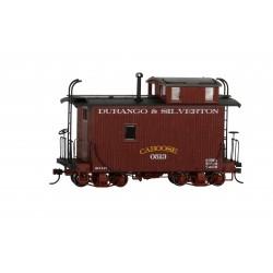 ** Bachmann 26565 x 1 18' Caboose Off-Set Cupola Caboose - Durango & Silverton