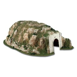 "** C1310 Straight Tunnel 16.5"" x 26"" Woodland Scenics HO / 00 Scale"