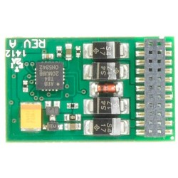 ** Bachmann 36-557 E-Z Command 1 Amp 4 Func. 21 Pin DCC Decoder (DC Compatible)