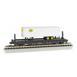 "** Bachmann 16753 x 1 52'6"" Flat Car NYC® with New York Central® Trailer"