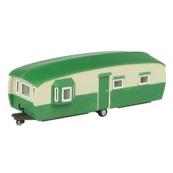 ** Graham Farish 42-0032 Scenecraft  x 1 28' Static Caravan (Pre-Built)