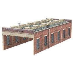 ** Graham Farish 42-0033  x 1 Scenecraft Two Road Engine Shed (Pre-Built)