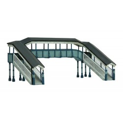 ** Graham Farish 42-0061  x 1 Scenecraft Twin Track Footbridge (Pre-Built)