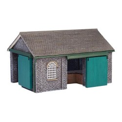 ** Graham Farish 42-170  x 1 Scenecraft Shillingstone Goods Shed (Pre-Built)