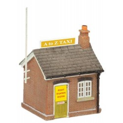 ** Graham Farish 42-194  x 1 Scenecraft Taxi Office (Pre-Built)