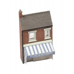** Graham Farish 42-209  x 1 Scenecraft Low Relief Butchers (Pre-Built)