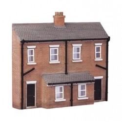 ** Graham Farish 42-233  x 1 Scenecraft Low Relief Rear of Terraces (Pre-Built)