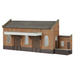 ** Graham Farish 42-238  x 1 Scenecraft Low Relief Goods Loading Canopy (Pre-Built)