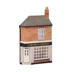 ** Graham Farish 42-245  x 1 Scenecraft Low Relief Corner Chemists (Pre-Built)