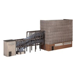 ** Graham Farish 42-299 x 1 Scenecraft Low Relief Turbine Hall (Pre-Built)