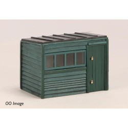 ** Graham Farish 42-544  x 1 Scenecraft Pent Roof Garden Shed (Pre-Built)