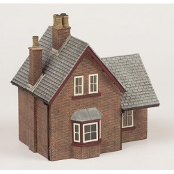** Bachmann 44-0023  x 1 Scenecraft Brick Station Building (Pre-Built)