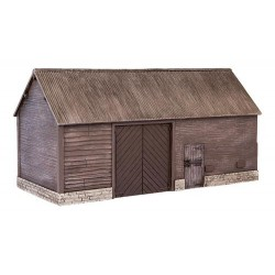 ** Bachmann 44-0057  x 1 Scenecraft Wooden Barn (Pre-Built)