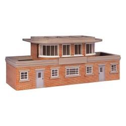 ** Bachmann 44-0059 x 1  Scenecraft Art Deco Signal Box (Pre-Built)