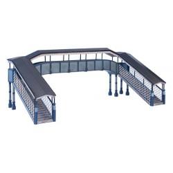** Bachmann 44-0061  x 1 Scenecraft Twin Track Footbridge (Pre-Built)