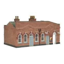 ** Bachmann 44-0065  x 1 Scenecraft March Station Waiting Room (Pre-Built)