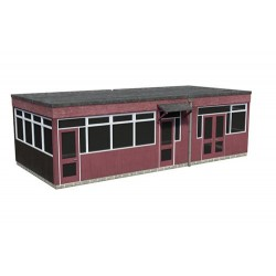 ** Bachmann 44-0070  x 1 Scenecraft Prefab Commercial Building (Pre-Built)