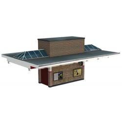 ** Bachmann 44-065  x 1 Scenecraft Art Deco Platform Centre Building (Pre-Built)