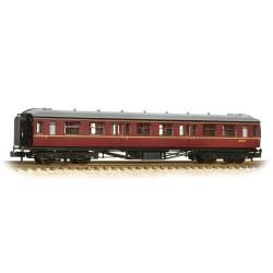 ** Graham Farish 374-537  x 1 Hawksworth 2nd Class Corridor BR Maroon