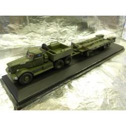 ** Oxford Diecast 76DT005 Diamond T Tank Transporter 21st Army Tank Brigade 1942