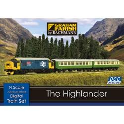 ** Graham Farish 370-048 The Highlander Digital Starter Set (DCC-Fitted)