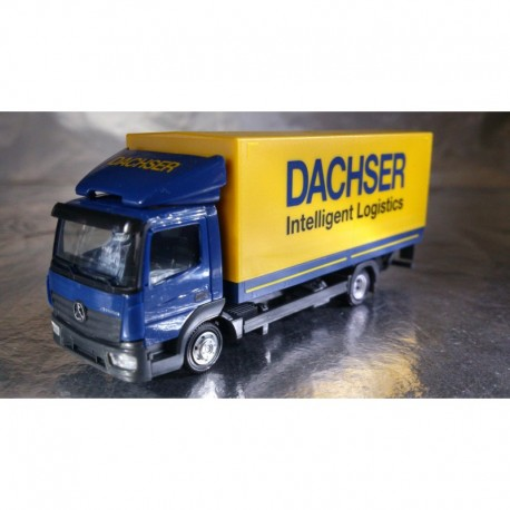 ** Herpa 307413 Mercedes-Benz Atego Canvas Truck with Liftgate Dachser 1:87