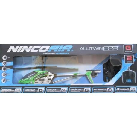 ** Ninco NH90068 Helis Nincoair 365 Alutwin Helicopter 2.4G Radio Control