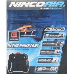 ** Ninco NH90100 Nincoair Alu-mini Whip Entry Level Helicopter RC Radio Control
