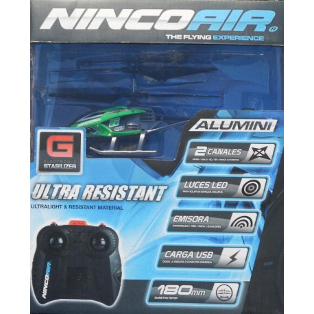 ** Ninco NH90099 Nincoair Alu-mini Whip Entry Level Helicopter RC Radio Control