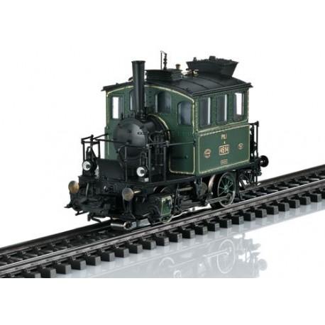** Marklin 36867 KBayStsB PtL2/2 Glass Box Steam Locomotive I (MFX-Sound)