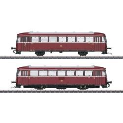 ** Marklin 39978 DB VT98.9 Diesel Railcar & Trailer III (MFX-Sound)