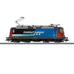 ** Marklin 37306 SBB Re4/4 II Zugkraft Aargau Electric Loco V (MFX-Sound)