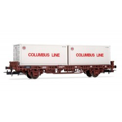 ** Rivarossi HR6413 DB Columbus Line Container Wagon IV