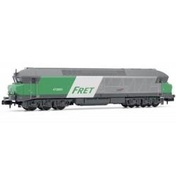 ** Arnold HN2385 SNCF Fret CC72000 Diesel Locomotive V