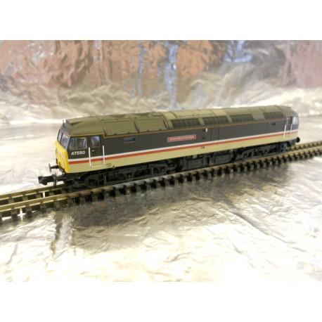 ** Graham Farish 372-248 Class 47/4 47550 'University of Dundee' BR Intercity (Mainline)