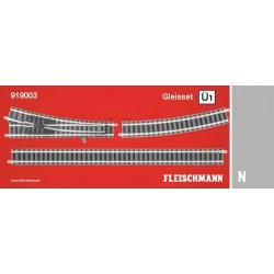** Fleischmann 919003 Profi Track Set U1