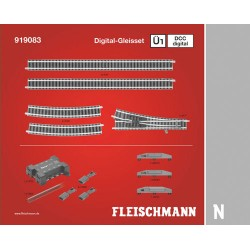 ** Fleischmann 919083 Profi Digital Track Set U1