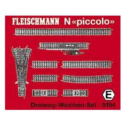 ** Fleischmann 9194 Profi Track Three Way Point Set E