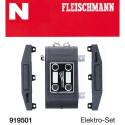 ** Fleischmann 919501 Profi Track Turnout Electrification Set
