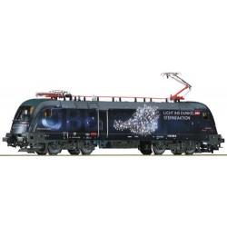 ** Roco 73238 OBB Rh1116 158 Licht ins Dunkel Locomotive IV (DCC-Sound)