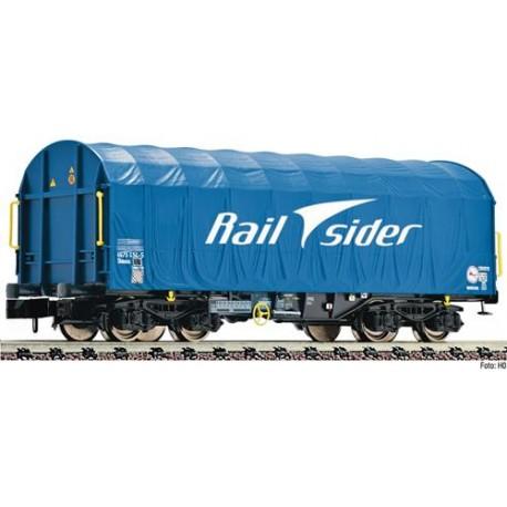 ** Fleischmann 837925 Rail Sider Shimmns Sliding Tarpaulin Wagon VI