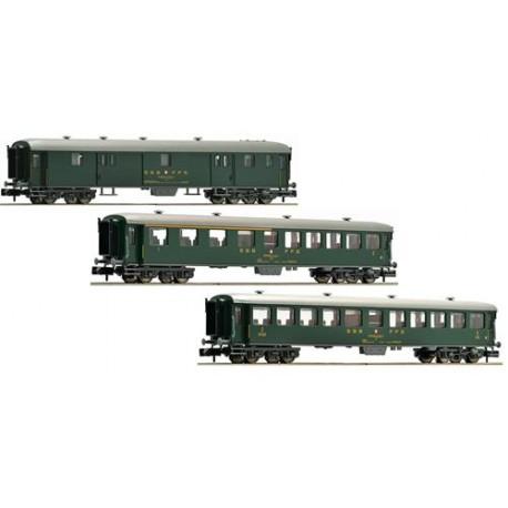** Fleischmann 881813 SBB Express Coach Set (3) IV