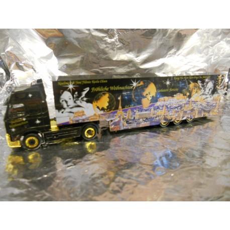 """** Herpa 149501 DAF CF Box Semitrailer """"Weihnachten 2003"""""""